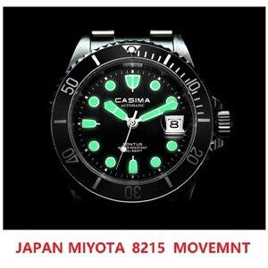 CASIMA Japan 8215 Movt Automatic Mens Watch 200 M Waterproof Wristwatch Man Mechanical Watches Sapphire Glass Clock reloj hombre