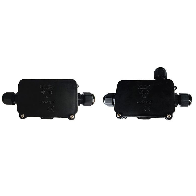 New Household Junction Box For Outdoor Portable Cable Junction Box Waterproof Black Furniture Handles
