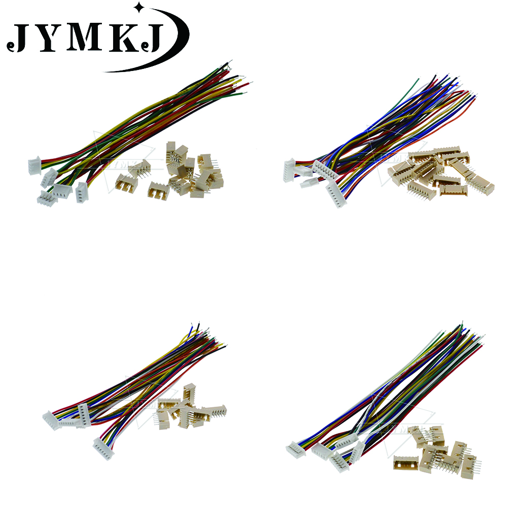 5Pcs 2.54MM 20Cm Dupont Wire Cable 8P-8P Connector Female To Female kw