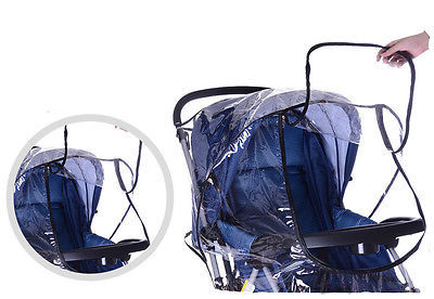 Nowość wózek dziecięcy pokrowiec przeciwdeszczowy uniwersalny wózek spacerowy wózek przeciwdeszczowy przezroczyste osłony przeciwdeszczowe