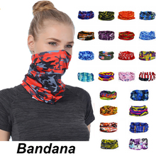 Мода мужчины женщины голова лицо шея солнцезащитный козырек воротник гетры трубка бандана шарф +спорт головной убор шарф пылезащитный открытый рыбалка