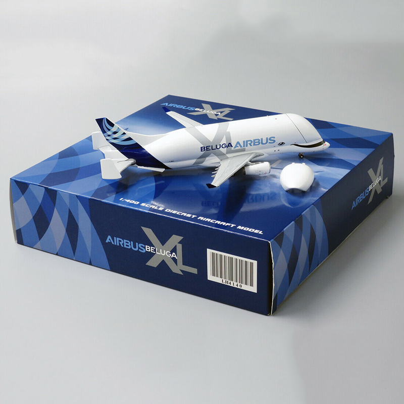 16CM 1:400 AirBus A330 BELUGA Airline Plane Model Diecast Alloy Airframe W Landing Gear Airplane Toy Fixed-wing plane collection image