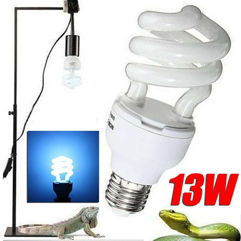 5.0/10.0 uvb 13/26w luz compacta lâmpada réptil terrário fluorescente lâmpadas dss899
