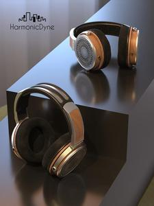 Image 4 - HarmonicDyne Zeus Over Headphone Headset Acoustic 50mm Dynamic Hifi Music Monitor Audiophile Musician Stereo MMCX Headset