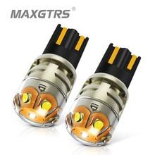 MAXGTRS 2x T10 светодиодный W5W светодиодный лампы 194 168 3030 DRL Авто боковой парковка Ширина укрыты внутренной сводной светильник для чтения настольн...