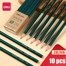 Wood Pencil Stationery Office-School Sketch HB Writing Drawing Children 2B 2H Special