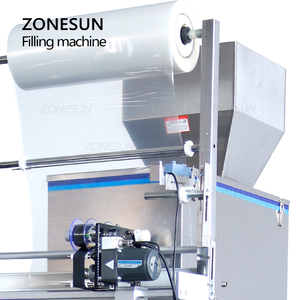 Image 3 - ZONESUN 10 999g Large Capacity Automatic Filling Sealing Machine Food Coffee Bean Grain Powder Bag Back Seal Packaging Machine