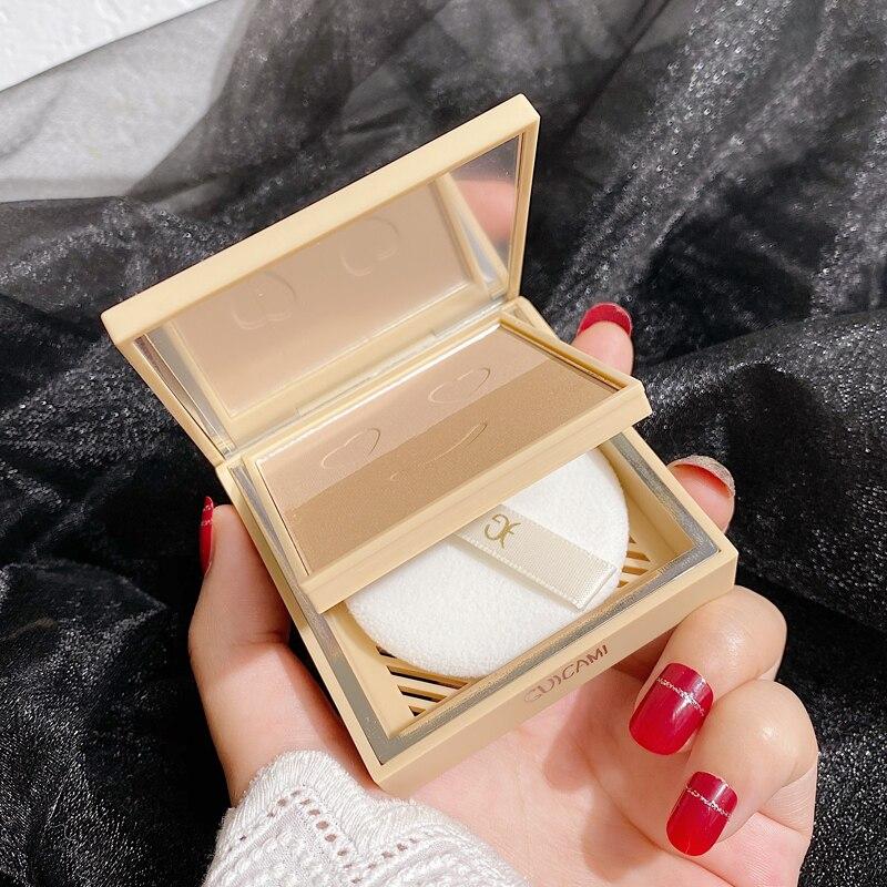Хайлайтер бронзант для лица Палитра Макияж светящийся блеск