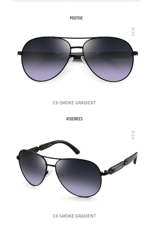 H87097f1d749b44d6b842a231984cfee93 FENCHI Polarized Sunglasses Women Vintage Brand Glasses Driving Pilot Pink Mirror sunglasses Men ladies oculos de sol feminino