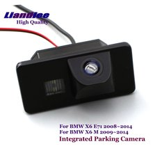Special Integrated Rear Camera For BMW X6 E71 X6 M 2008-2013 2014 Car DVD Player Camera HD SONY CCD CHIP Parking NTSC TV system