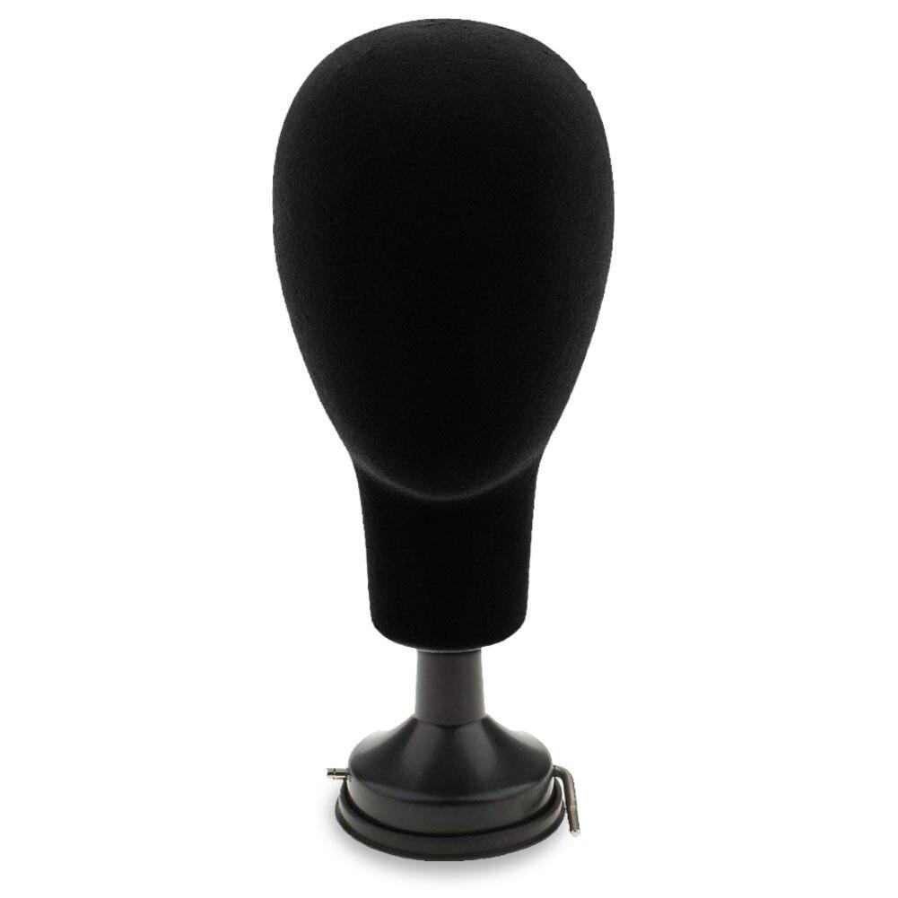 37cm Base Plate Styrofoam Mannequin Head Model Wigs Caps Glasses Display Stand Holder