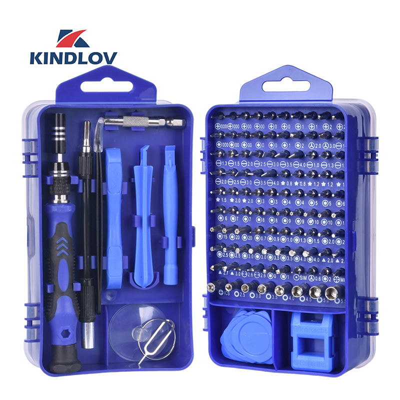 KINDLOV Screwdriver-Set Phone-Repair-Tools-Kit Magnetic Multitools Precision Torx Insulated