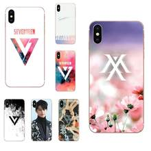 Silicone Cover Case Kpop Seventeen Logo For Huawei Honor 5C 5X 6A 6X 7 7A 7X 8 8A 8S 8X 9 10 30 Lite Pro Y6 II Y7 Y9 Prime 2019(China)