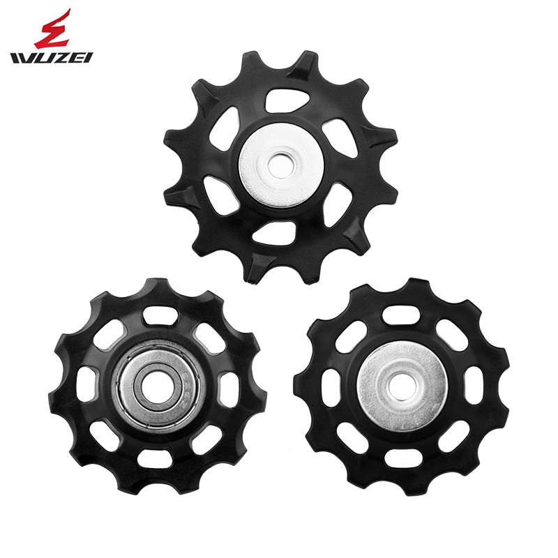 WUZEI MTB Bicycle Pulley Whee 11T 12T 13T 17T Road Bike Jockey Rear Derailleur Repair Kit for Shimano R8000 R7000 Sram XX1 GX NX