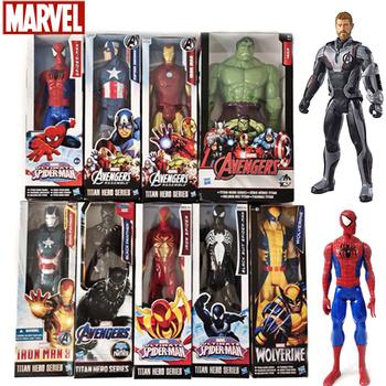 Hasbro Marvel Ultimate Itan Hero seria SpiderMan Hulk Iron Man Thanos Thor Steve Rogers czarna pantera kapitan Marvel zabawka tanie i dobre opinie Model Dla osób dorosłych Adolesce 7-12y 12 + y CN (pochodzenie) Unisex no eat 28cm On Avengers PIERWSZA EDYCJA Peryferyjne