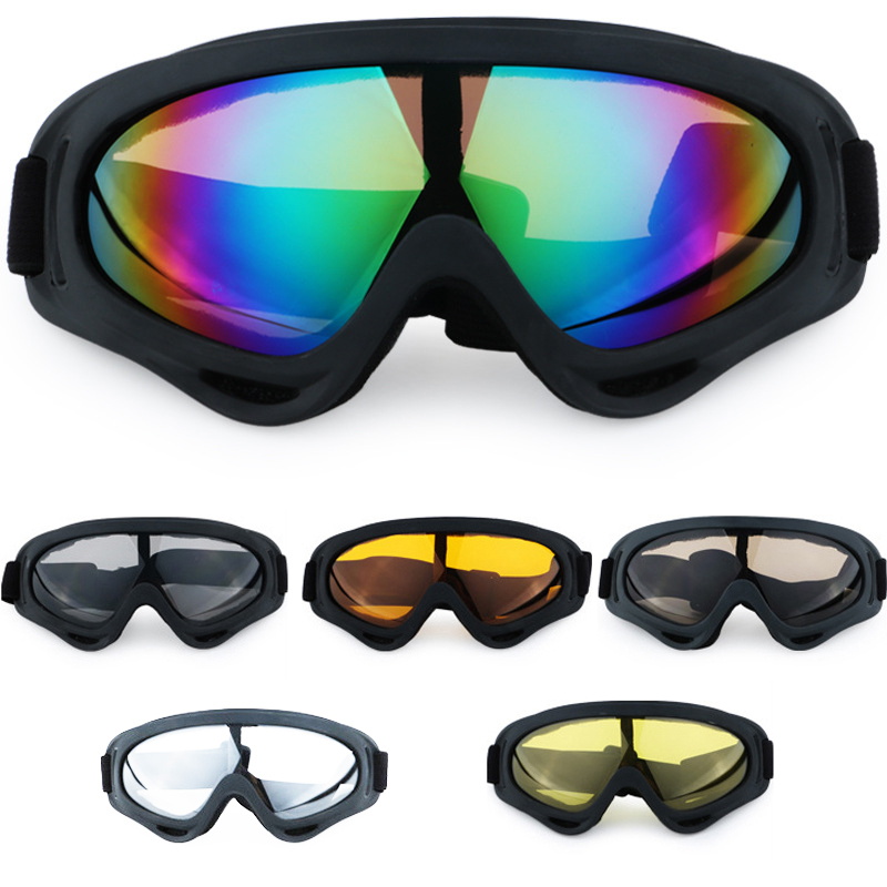 Windproof Ski Glasses Skating Goggles Outdoor Riding Snowboard Mountaineering Mask Snowmobile For Men Women Dustproof Goggle