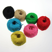 Color primary color hemp rope hanging tag photo wall small wooden clip DIY manual hemp rope shooting decorative props a total of