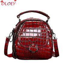 Luxury women backpack 2019 high quality PU leather pattern C