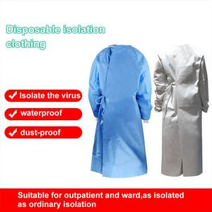 Isolation-Clothing Protective-Suit Reusable Waterproof Unisex -35 Batas Anti-Fog