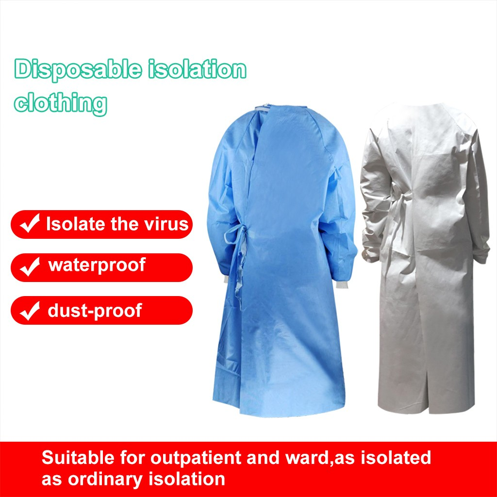 Unisex Protective Suit Isolation Clothing Reusable Waterproof Anti-fog Dust-proof Batas Desechables #35