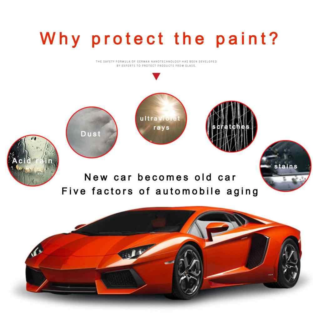 500ML รถสเปรย์ WAX ทำความสะอาดเซรามิคสเปรย์เคลือบรถสเปรย์ Sealant Top Coat Quick Nano- เคลือบสำหรับรถยนต์