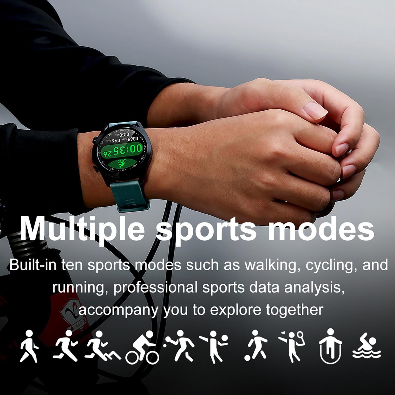 Nssd i12 relógios inteligentes esportes chamada relógio