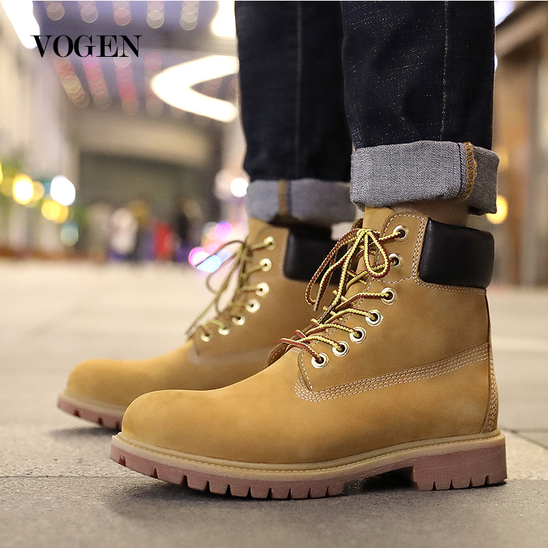 Boots Couple Doc Motorcycle Ankle Boots