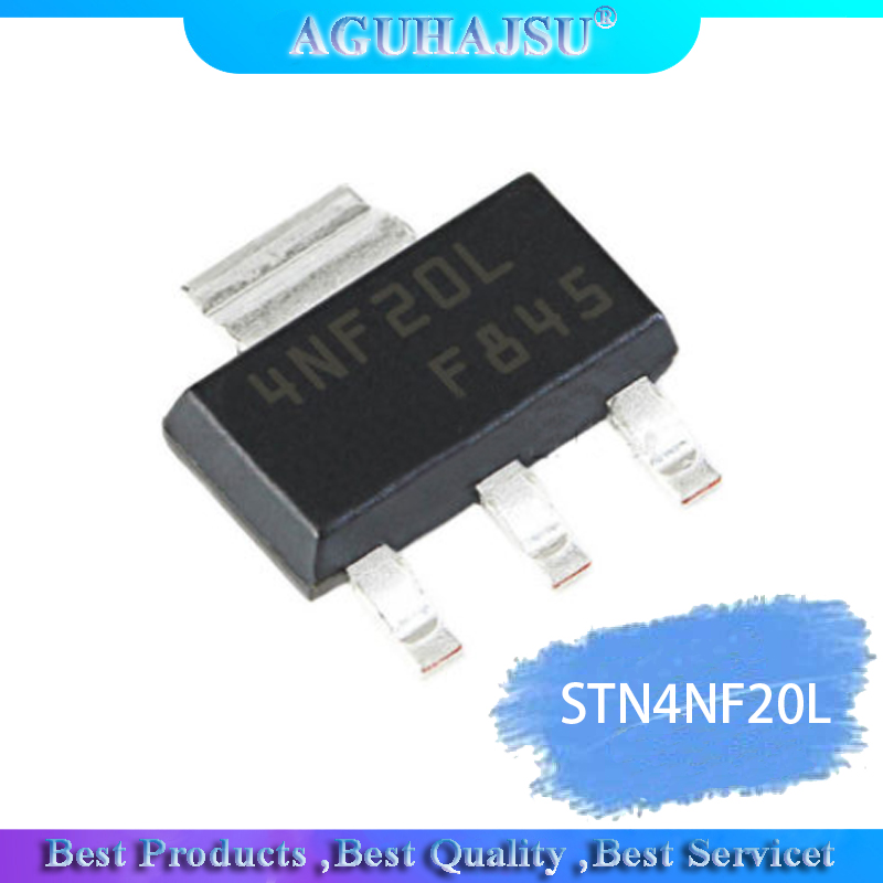 1PCS  STN4NF20L 4NF20L SOT-223  Integrated Circuit