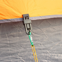 Tents Awning Wind Rope Awnings Clamp Outdoor Camping Plastic Clip Accessories 6 PCS ZY01