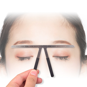 2019 Sale Real New Tattoo Accesories Microblading Professional Eyebrow Stencil Ruler Makeup Direct Selling Tattoo Machine