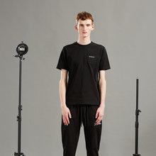 Мужская мода 2020 года Повседневная молодежная простая черная