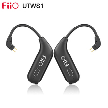Fiio UTWS1 Echte Draadloze Bluetooth Module Afneembare Oorhaak Met Microfoon Gebruik Voor Shure/Fiio/Westone Oortelefoon Aptx/aac/Sbc
