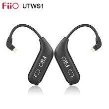 Fiio utws1 verdadeiro sem fio bluetooth módulo destacável gancho com microfone uso para shure/fiio/westone fone de ouvido aptx/aac/sbc