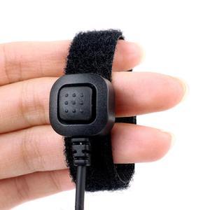 Image 5 - 10pcs Finger PTT Throat MIC Covert Acoustic Auricolare Tubo Per YAESU VERTEX VX 2R 3R FT 50R FT 60R 3.5 millimetri 1 spille Radio C2079A