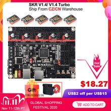 Bigtreetech Skr V1.4 Btt Skr V1.4 Turbo 32Bit Board 3D Printer Onderdelen Skr V1.3 Mks Gen L TMC2209 Tmc2208 Ender3 upgrade CR 10