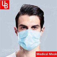 Einweg Staub Sicherheit Chirurgische Mund Medizinische Maske Anti PM 2,5 Anti-Influenza Atmen Atemschutz Gas Masken Gesicht filter Maske