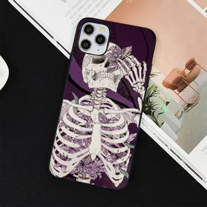 Image 5 - YNDFCNB Gothic Fashion Skull Phone Case for iPhone 11 12 pro XS MAX 8 7 6 6S Plus X 5S SE 2020 XR cover