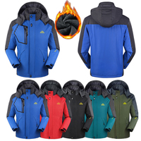 Women Men Winter Waterproof Fishing Skiing Warm Trekking Hiking Climbing Outdoor Jacket Thermal Camping Sport Fleece Coat