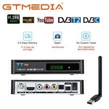 Оригинальный спутниковый ресивер gtmedia tt pro dvb кабель t2/t