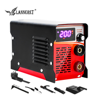 LANNERET 120A/160A/200A Arc Electric Welder Working Welding Machine MMA Operation for Soldering Welding Tools