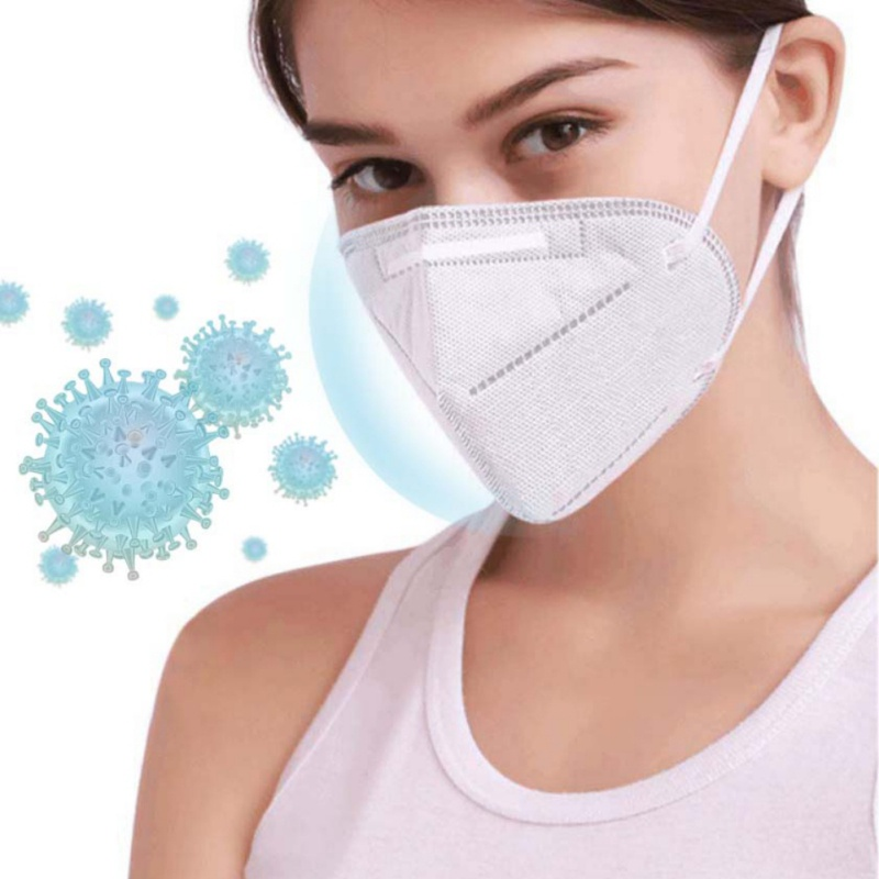 Particulate Respirator Dust Masks Anti Pollution Surgical Anti-Dust VIrus/Smoke/Gas/Allergies/Germs Facemask