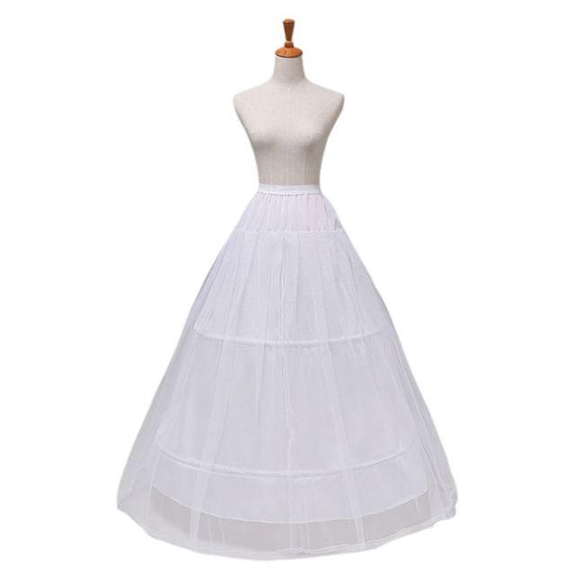 2 Hoops 1 layer Yarn Skirt Bride Bridal Wedding Dress Support Petticoat Women Costume Skirts Lining Liner E15E