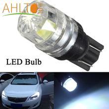цена на 1PCS Led Car DC 12v Lampada Light T10 5050 Super White 194 168 w5w T10 Led Parking Bulb Auto Wedge Clearance Lamp