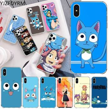 Happy Felice Fairy Tail Phone Case for iphone 12 pro max 11 pro XS MAX 8 7 6 6S Plus X 5S SE 2020 XR cover image