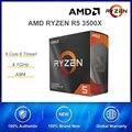 Идеальное сочетание AMD RYZEN R5 3500X Процессор 6 ядер 6 нитей с ASUS B450 PLUS MATX настольная игровая материнская плата
