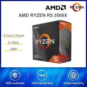 Идеальное сочетание AMD RYZEN R5 3500X Процессор 6 ядер 6 нитей с ASUS TUF B450M-PRO игровая материнская плата для игровых ПК