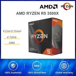Процессор AMD RYZEN R5 3500X Процессор 6 ядер 6 поток с радиатором игра мощная производительность Максимальная частота 4,1 ГГц