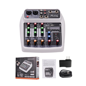 Image 5 - Muslady AI 4 Compact  Mixing Console  Reverb Effect Digital Audio Mixer BT MP3 USB Input +48V Phantom Power for Music Recording