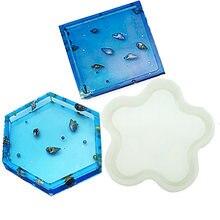 5 стилей diy силиконовая подставка под кружку коврик для чашки