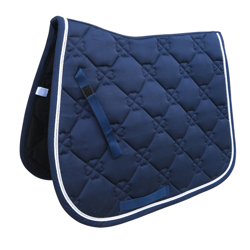 Hot AD-All Purpose Saddle Pad Horse Riding Equestrian Saddle Pad For Horse Riding Show Jumping Performance Equipment